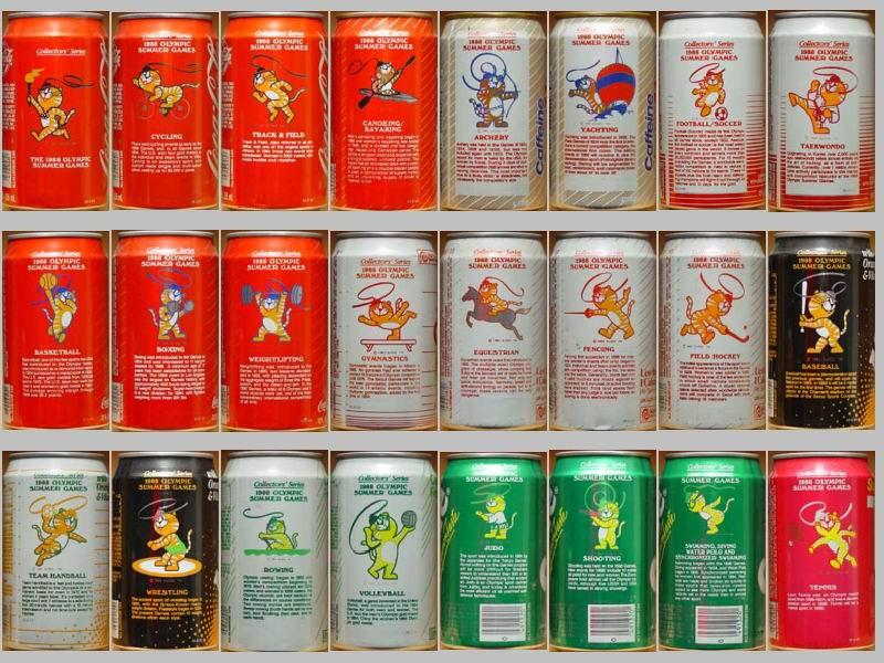 Davide Andreani Coca Cola Home Page Coca Cola Cans